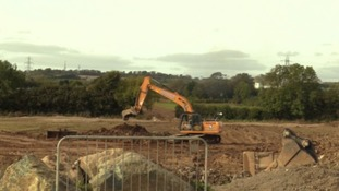 Work begins on primary school for Devon's newest town