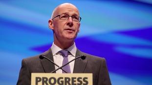 SNP Deputy First Minister, John Swinney