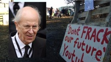 Lord Tebbit called anti-fracking 'NIMBYism'