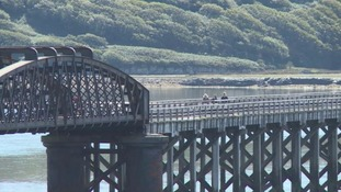 Barmouth Bridge anniversary celebrated with special train service
