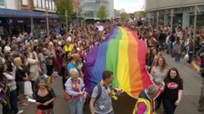 Exeter Pride is up against five other pride days to be named UK Pride 2018.