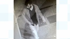 CCTV image of the man Police wish to identify.