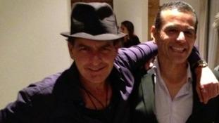 """Charlie Sheen said LA Mayor Antonio Villaraigosa """"knows how to party"""""""