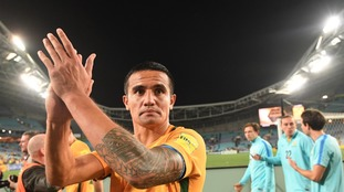 Tim Cahill helps Australia to dash Syria's hopes of qualifying for the World Cup