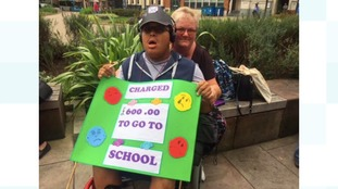 Council cuts leave special needs children without transport to school