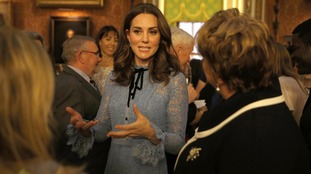Kate returns to royal duties after third pregnancy announcement