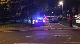 Armed police responded to reports of a man with a firearm in Heywood on Tuesday evening.