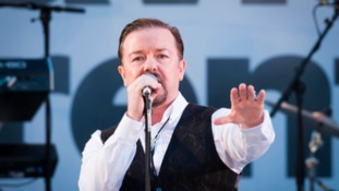 Ricky Gervais will be performing in Leicester in November.