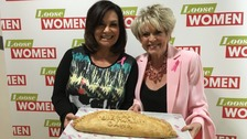 Dawn French was gifted a 'birthday' pasty by Loose Women.