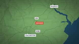 Man named after collision on A12 at Dedham.