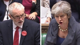 Corbyn and May clashed in the first PMQs since the Tory conference.