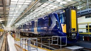 Hitachi's new Scotrail class 385