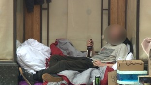 Exeter's large homeless population provide a steady demand for Class A drugs.