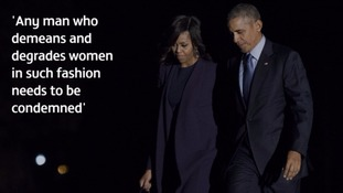 The former president and first lady condemned the Hollywood mogul.