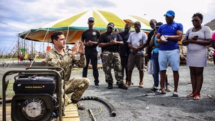 Taunton-based commandos return home after assisting in Hurricane Irma relief