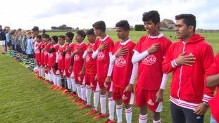football lineup