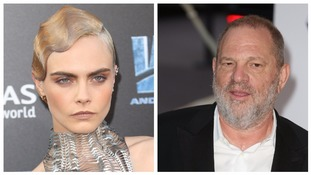 Cara Delevingne claims Harvey Weinstein attempted to kiss her in New York hotel room
