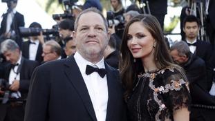 Harvey Weinstein's wife, British fashion designer Georgina Chapman, has left him.