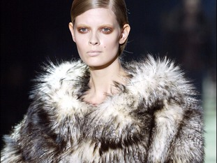 The fashion brand has previously used fox, mink and racoon fur.