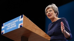 Prime Minister Theresa May unveiled the Government's energy cap plan at the Tory Party conference.