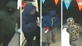CCTV images released of men following armed robbery at Bristol Co-op supermarket