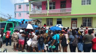 All supplies have been gratefully received by people on the island