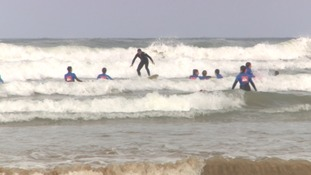 Newquay charity using surf therapy to help young people
