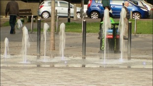 Fountains in St George's Square