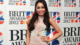 Singer Dionne Bromfield at the Brit Awards