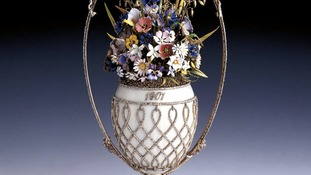 Basket of Flowers Fabergé Egg.