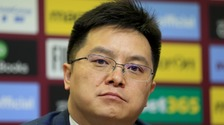 The chairman and owner of Aston Villa Football Club, Tony Xia