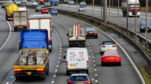 The M1 will be closed overnight on October 12 and 13