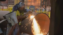 Steel production is back in business in Hartlepool.