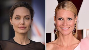 Angelina Jolie and Gwyneth Paltrow.
