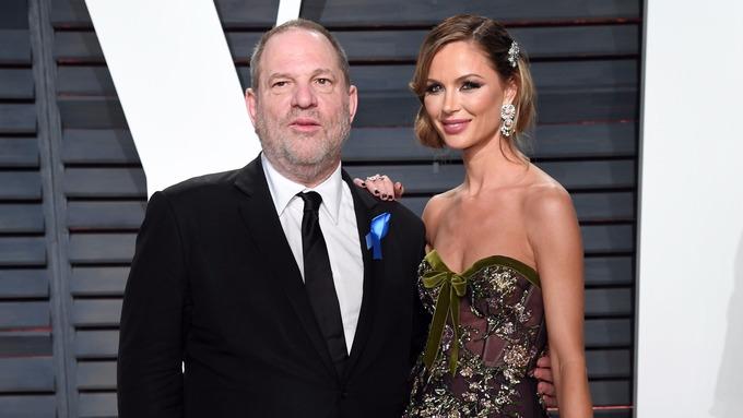 Weinstein and wife Georgina Chapman.
