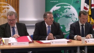 Liam Fox re-launches centuries old Board of Trade