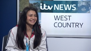 Claudia Fragapane speaks to ITV West Country