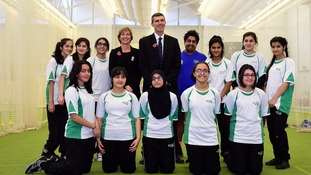 Bradford girls' cricket team breaking records after overcoming social barriers
