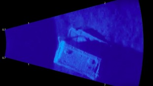 One box of cannisters was found at the bottom of Stixwould Lake by sonar equipment.