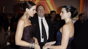 Kate Beckinsale, left, pictured with Harvey Weinstein and Penelope Cruz in 2009.