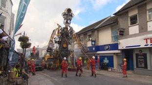 The Man Engine was named the National Lottery's 2017 best art project.
