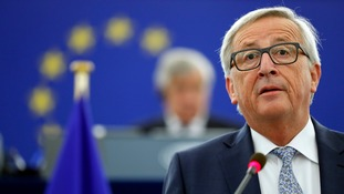 Jean-Claude Juncker blamed Britain for the delay in the Brexit process.