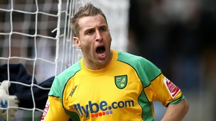 Huckerby was a legend as a player at Carrow Road.