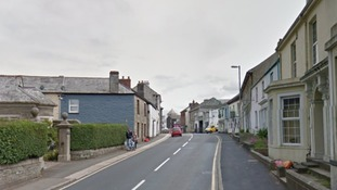 The fire happened at a property on Dean street in Liskeard.