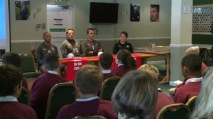 Plymouth Argyle players quizzed by children at anti-racism event