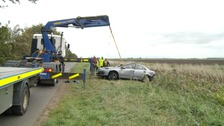 Two dead after collision in Cambridgeshire