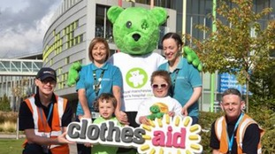 Manchester Children's Hospital teams up with clothing collector in a bit to raise more money