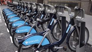 'Boris bikes' were a huge success in London