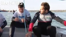 Sir Ben Ainslie inspiring youngsters to take up sailing