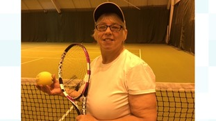 Visually impaired tennis player to attend prestigious awards